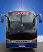 UNIVERS Setra 515 HD Frontansicht